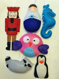 An Assortment of Holidays Ornaments