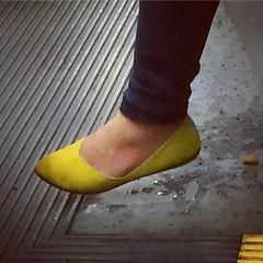 Dripping feet
