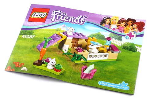 LEGO Friends 41087 Bunny and Babies 11