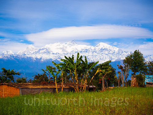 blue trees nepal sky cloud house snow building green nature beauty field rural landscape outdoors asia village farm scenic banana snowcapped crop mustard himalaya himalayas gorkha indiansubcontinent tanahun manasalu phinam pipalthok