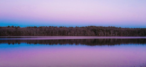 pink sunset sky lake nature colors evening purple lakeside photostream