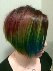 Technicolor hair February 2015