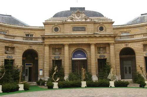 Monnaie de Paris courtyard by Howard Berlin