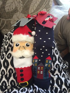 Our Christmas stockings