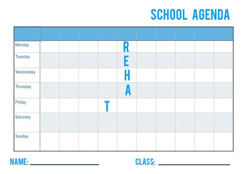 Schoolagenda-temp2