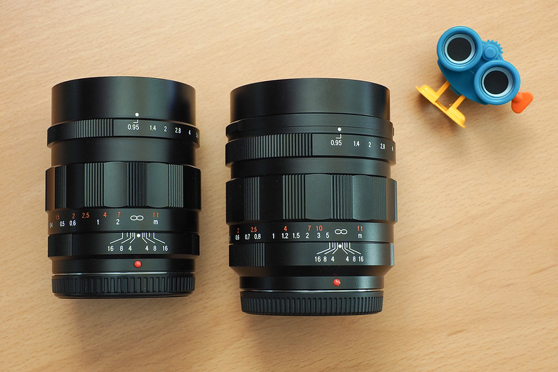 25mm vs 42.5mm f/0.95|Voigtlander NOKTON