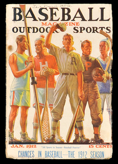 1912 (Jan) Baseball Magazine All Sports In Season