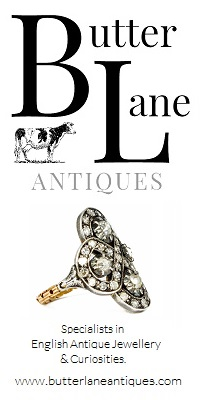 Butter Lane Antiques Banner