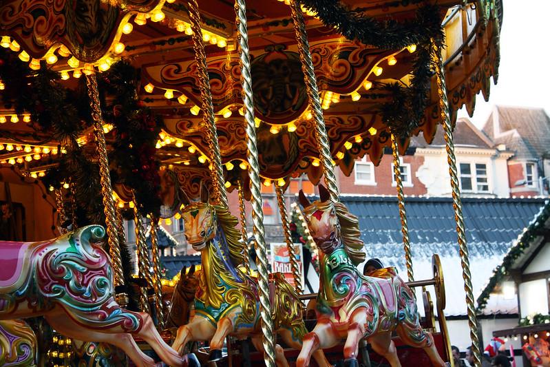 carousel nottingham christmas market