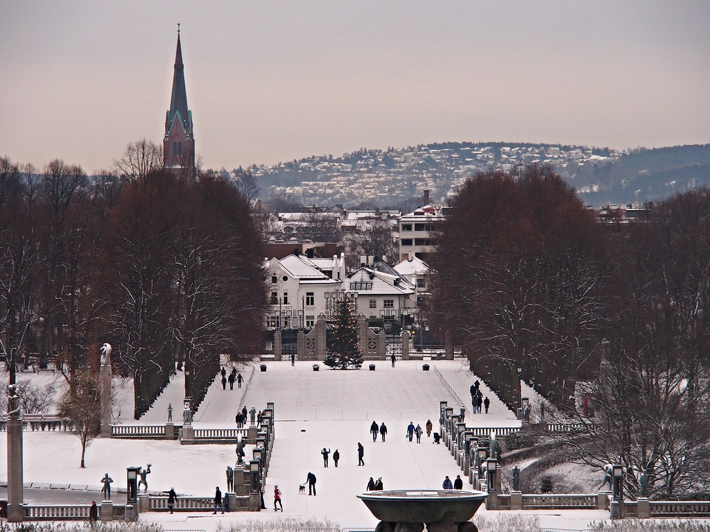 Oslo Winter Panorama