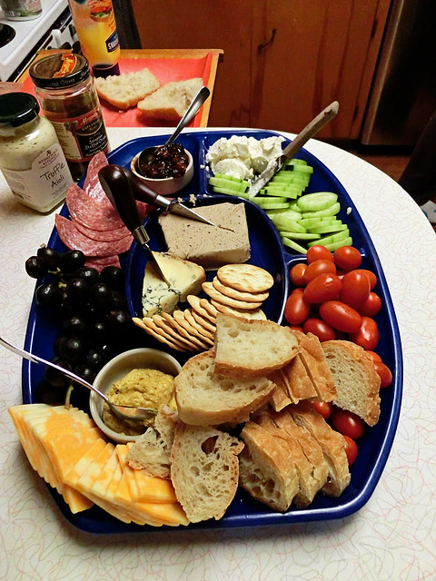 """Ploughman's Lunch"" for Our Livingroom Picnic"