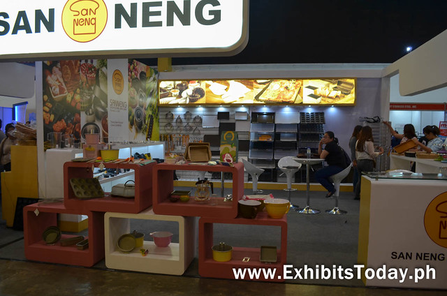 San Neng Exhibit Booth