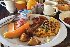 Carnival Inspiration - Food Breakfast plate