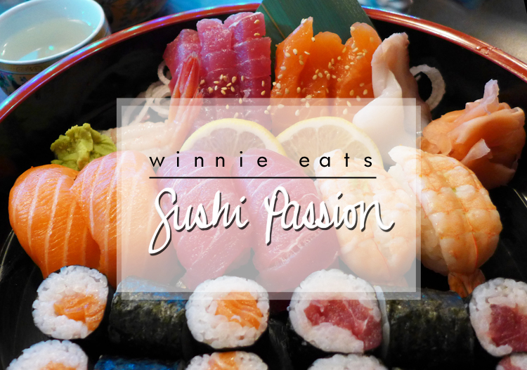 winnie eats sushi passion