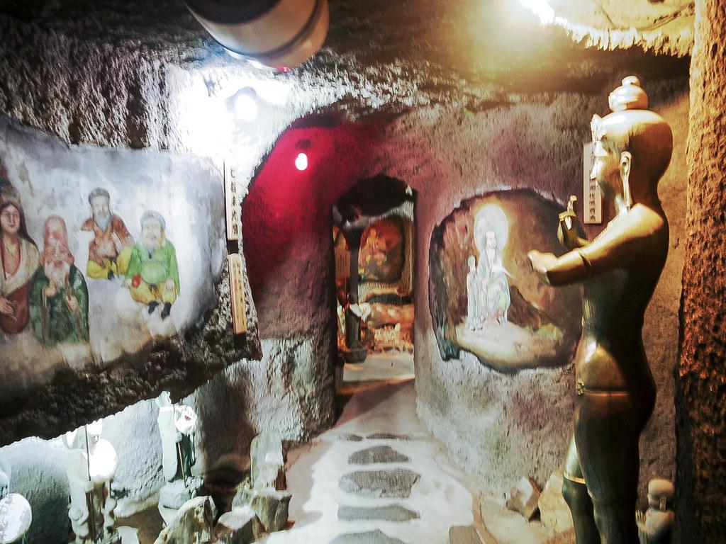 洞窟内のパラダイス