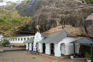 Sri Lanka. Dambulla. Rock Temple.