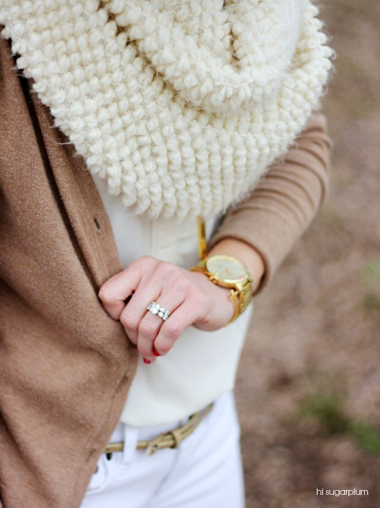 Hi Sugarplum   3 Ways to wear Winter Neutrals