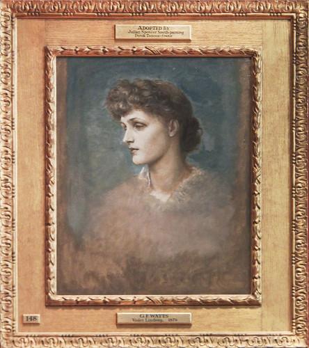 Violet Lindsay, 1879, George Frederick Watts