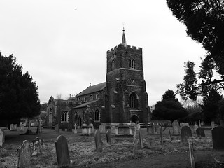 St Swithun's church, Sandy, Bedfordshire