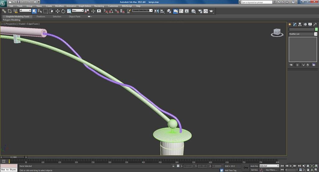 3d Lamps Work In Progress Wire Frame Screenshots