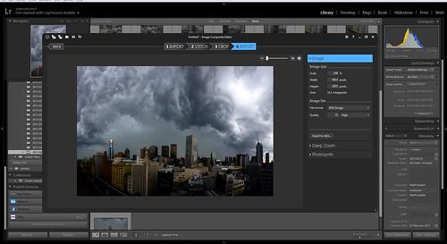 Storm Panorama - Stage 8
