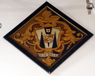 Hatchment, St Mary`s Breamore Hants (2)
