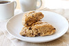 whole wheat cinnamon raisin scones