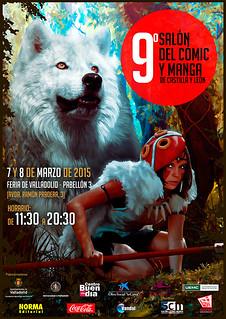 9º Salón del Cómic y Manga de Castilla y León. Carteles oficiales.