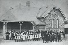 Willunga Public School, c 1887.