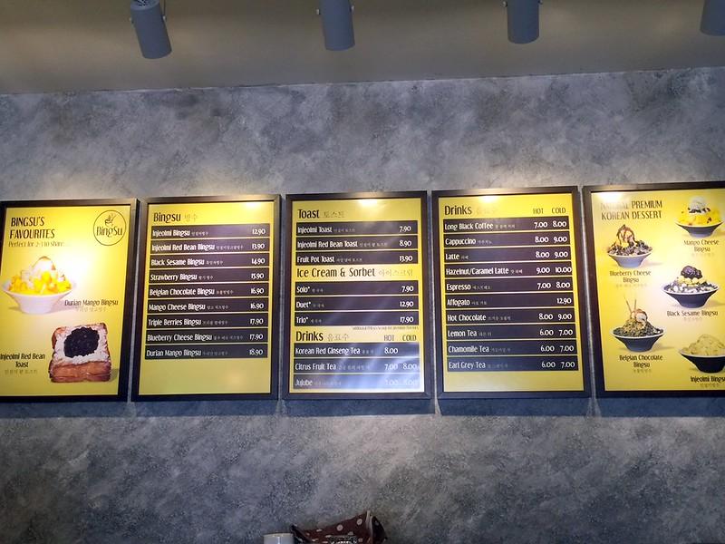 bingsu cafe - uptown damansara