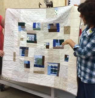 Pam's Thrifted baby quilt