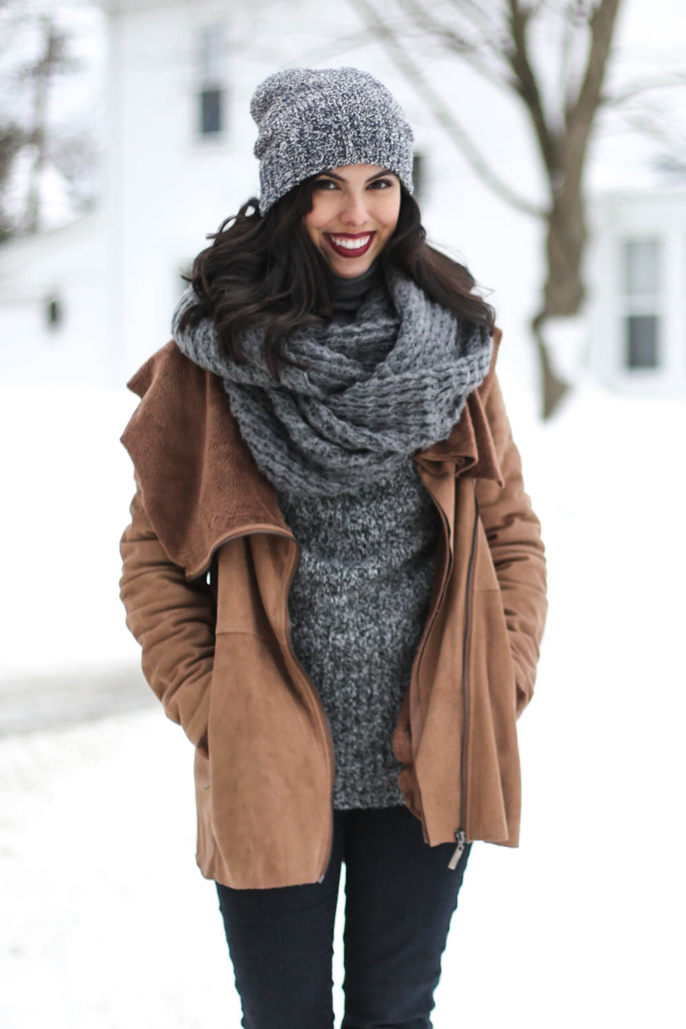 austin style blogger, casual winter look ideas, forever 21 beanie, asos scarf, forever 21 denim jeans, austin texas style blogger, austin fashion blogger, austin texas fashion blog