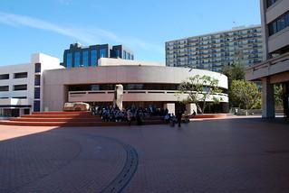 Aratani Theatre,  Kan Morimoto / Kajima Associates  c.1983