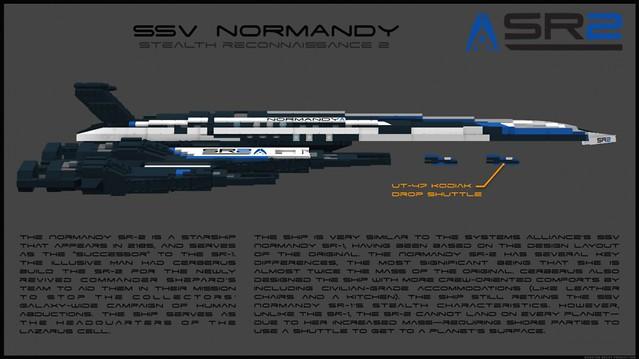 SSV NORMANDY SR2A (LDD Building Instructions) by  CaptainDunDun