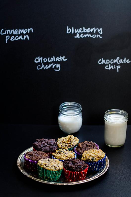1 Gluten Free Muffin, 4 Ways | cookingalamel.com