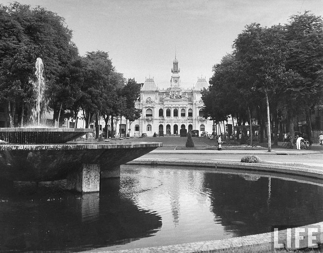 SAIGON 1948 - Hotel de Ville, in French Indo China