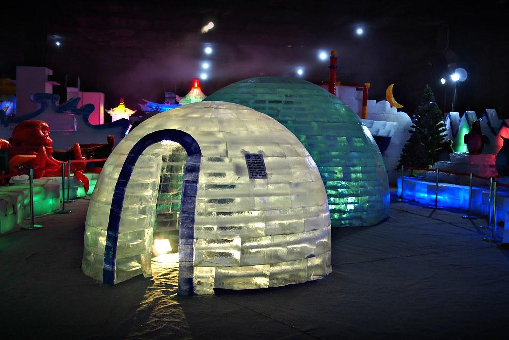 台中高鐵-2015正宗哈爾濱冰冰燈冰雕展-34