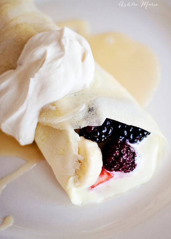 everyone loves crepes and this tart cream cheese filling is perfection