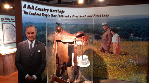 LBJ and Lady Bird were both very heavily influenced by the Texas Hill Country
