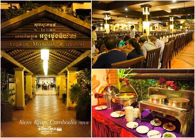 Siem Reap, Cambodia Day 3 - Buffet Dinner 01