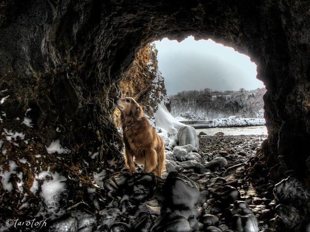 a cave explorer