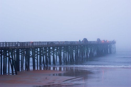 usa fog fishing florida earlymorning palmcoast flaglerpier