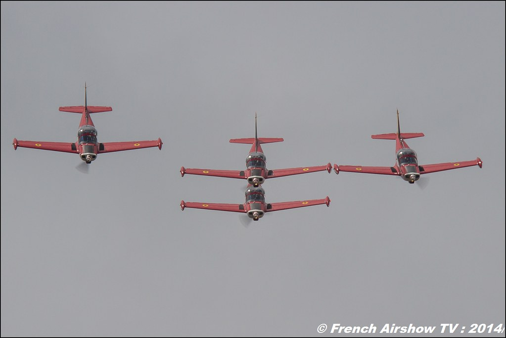 Red Devils Team, Meeting Aerien BA-133 Nancy Ochey 2014
