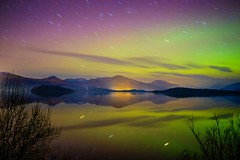 Aurora Borealis - Northern Lights Loch Lomond (Explored on 20th March 2015)