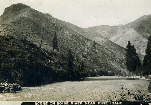 idaho boiseriver pine river