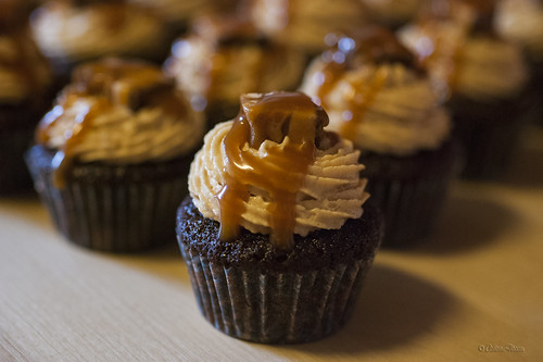 Snickers™️ mini-cupcakes