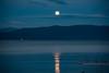 Flathead Lake moonrise