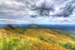 Bieszczady Mountains, Polonina Wetlinska (HDR)