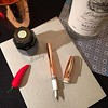 {RG: @montegrappausa} Is it too early for Grappa and Mules? #montegrappamule #grappa #montegrappa #miamipenshow #dcpenshow #fountainpen #fountainpenday