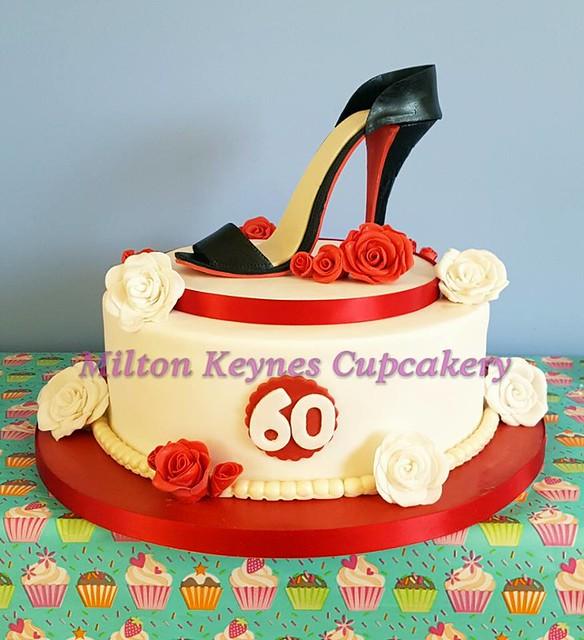 High Heel Cake by Hayley McPherson of Milton Keynes Cupcakery
